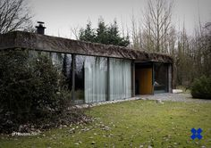 154. Juliaan Lampens /// House Lampens - Vanhove /// Eke-Nazareth, Belgium /// 1960 OfHouses guest curated by Besonias Almeida. (Photos © Jörn Schiemann, Jan Kempenaers.)