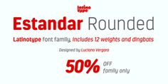 Font dňa – Estandar Rounded   https://detepe.sk/font-dna-estandar-rounded?utm_content=buffer8ec6a&utm_medium=social&utm_source=pinterest.com&utm_campaign=buffer