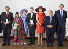 Four Freedoms award ceremony on May 24, 2014 in Middelburg, Netherlands