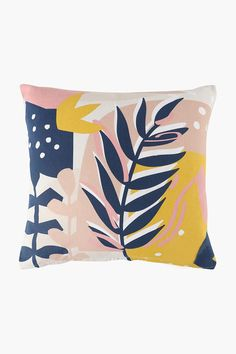 Printed Palm Abstract Scatter Cushion, 50x50cm - Shop New In - Home D� Scatter Cushions, Throw Pillows, 2nd City, Home Decor Shops, Chair Pads, Palm, Bedroom, Abstract, Printed