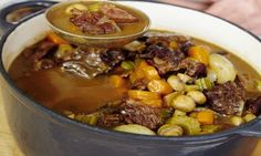 Mary Berry's family suppers: Rich beef and mushroom stew