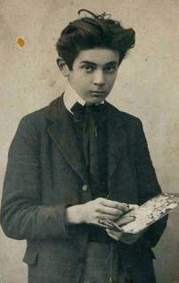 Egon Schiele at age 15