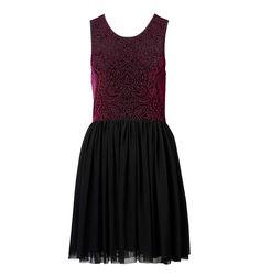 Devore velvet bodice dress - Forever New