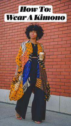 All Black Fashion, Autumn Fashion, Stylish Outfits, Fashion Outfits, Fashion Tips, Kimono Fashion, Work Fashion, Work Outfits, Fashion Fashion