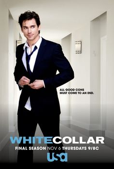 White Collar. The Final Season. Premieres Thursday, November 6th at 9/8c on USA.