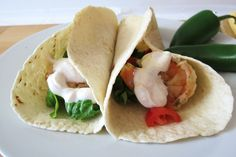 Tequila Lime Grilled Shrimp Tacos with Tequila Lime Chipotle Yogurt Sauce