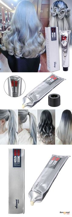 US$9.89 + Free shipping. Punk Style Unisex Grannyhair Light Gray Color Permanent Hair Cream Dye 100ml. Light Gray Color Hair Cream, Granny gray color. Get the look!