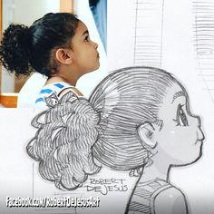 Iwillthrowaway1 sketch.  #drawing #sketch #portrait #pencildrawing #pencilsketch #toddler #girl #curlyhair