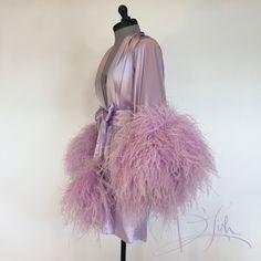 Image of Silk & Ostrich Shortie
