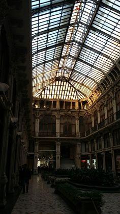 Galleria Subalpina. I love its decadent, slightly eerie atmosphere #turin #torino #galleriasubalpina #italy #eerie #decadent #artnouveau #liberty #jugendstil