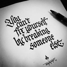 Lettering by Tolga Girgin Calligraphy Quotes Scriptures, Calligraphy Words, How To Write Calligraphy, Calligraphy Alphabet, Typography Letters, Caligraphy, Penmanship, Tattoo Writing Fonts, Tattoo Lettering Fonts