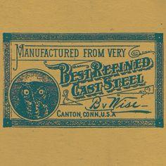 B Wise #typehunter #typeresearch #vintagebrand