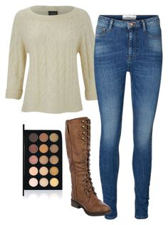 """""""Elena Gilbert Inspired Outfit"""" by mytvdstyle ❤ liked on Polyvore featuring VILA, Vero Moda, women's clothing, women's fashion, women, female, woman, misses, juniors and Inspired"""
