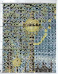 London scene 2 of 6 Cross Stitch Uk, Cross Stitch Numbers, Cross Stitch Boards, Cross Stitch Alphabet, Cross Stitch Flowers, Cross Stitch Designs, Cross Stitch Patterns, Diy Embroidery, Cross Stitch Embroidery