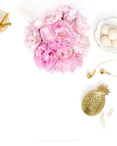 In the shop: New gold styled desktop images. Styled Stock Photography for…