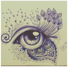 Dessin Girl Drawing Sketches, Pencil Drawings, Iris Painting, Painting & Drawing, Mandala Drawing, Mandala Art, Eyes Artwork, Eye Drawing Tutorials, Art Inspiration Drawing