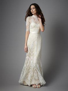 Vintage Inspired Wedding Dress Bridgette from Catherine Deane