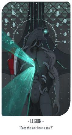 shallete,Legion,ME персонажи,Mass Effect,фэндомы,таро