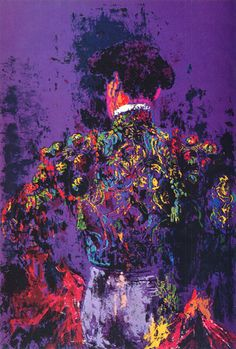LeRoy Neiman.   Title: matador |Pinned from PinTo for iPad|