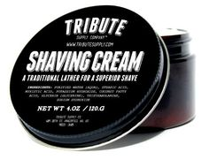 Recently bought this shaving cream for my husband and can't let him have it all to himself. Super good stuff my my sensitive skin. Tribute Supply Co. Shaving Cream - This High Quality Shave Cream Produces a Rich Fragrance Free Lather That Is Perfect for Sensitive Skin. Crafted with Premium Barber Quality Ingredients This Product Will Give Your Face the Best Shave of Its Life - Satisfaction Guarantee by Tribute Supply Co., http://www.amazon.com/dp/B00COPPUZO/ref=cm_sw_r_pi_dp_9A-0rb1FJ1E48