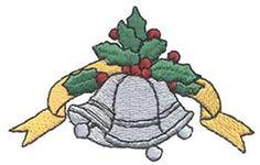 Christmas Bells Embroidery Design | AnnTheGran
