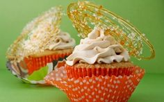 Triple Salted Caramel Cupcakes by (Caramel) @FoodNetwork_UK