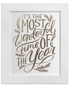 'It's the Most Wonderful time of the Year' print http://rstyle.me/n/sybgkn2bn