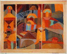Paul Klee (1879-1940), Tempelgarden, 1920