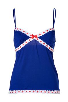 JUICY COUTURE Seaside Ribbon Cami Top