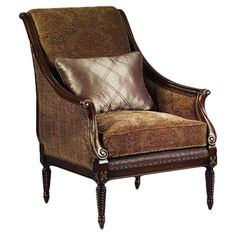 Apsley Arm Chair with Pillow at Joss & Main