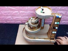 Wow! DIY Marble Run Game from Cardboard - YouTube
