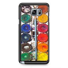 Watercolor Plate TATUM-11837 Samsung Phonecase Cover Samsung Galaxy Note 2 Note 3 Note 4 Note 5 Note Edge