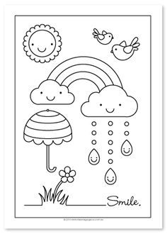 Spring Coloring Pages: Spring coloring sheets can actually help your kid learn more about the spring season. Here are top 25 spring coloring pages free preschool coloring sheets free online printable coloring pages, sheets for kids. Free Coloring, Coloring Pages For Kids, Coloring Books, Spring Coloring Sheet, Colouring Sheets For Adults, Frozen Coloring Pages, Heart Coloring Pages, Embroidery Patterns, Hand Embroidery