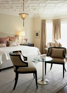 Sarah Richardson Design Inc 2 Tara S Master Bedroom Perfect Chairs Someday Ceiling