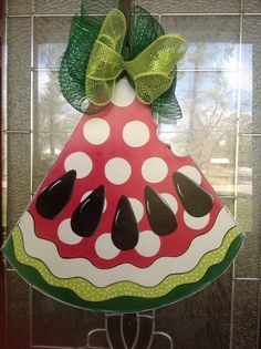 Watermelon Door hanger personalized by samthecrafter on Etsy, $37.00