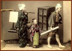 Fábrica do Arco-Iris:  ***MOVING DAY -- A Domestic Scene in Old Japan***...