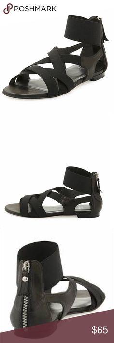 Stuart Weitzman Napa Elastic Strap Sandals Stuart Weitzman Napa Elastic Strap Sandals size 8 Stuart Weitzman Shoes Sandals