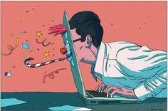 Le Monde - Newspaper Illustration 3 on Behance