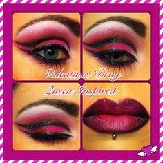 Valentines Drag Makeup http://www.makeupbee.com/look.php?look_id=79504