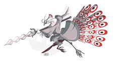 Day Lord Shen from Kung Fu Panda, Rooster Art, Epic Characters, Panda Art, Best Villains, Demon Art, Body Drawing, Pretty Birds, Disney And Dreamworks