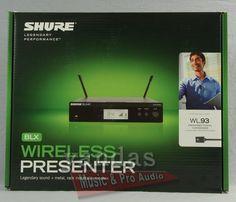 Shure BLX14R/93 Wireless Omnidirectional Lapel Microphone System