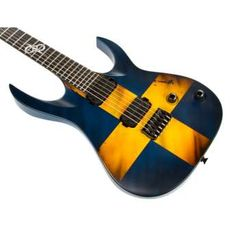 Washburn Custom Shop Solar 6, Swedish Flag Matte, USM-PX-SOLAR6SFM