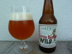 Lagunitas Little Sumpin' Wild Ale. A hoppy beer; really smooth, malty, some caramel, with a soft floral undertone finish. At 8.8% a really nice bear 8.5/10
