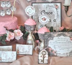 Once Upon A Time Fairytale Printable Party Kit by PartyEverAfter
