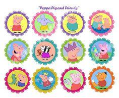 Peppa Pig Printable Stickers