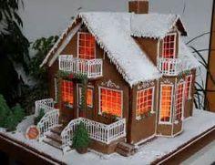 christmas gingerbread town - Ecosia