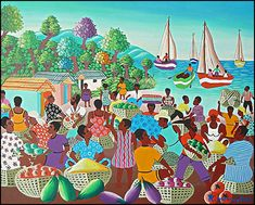 Haitian art - wikipedia, the free encyclopedia, Haitian art is a complex tradition, reflecting african roots with strong indigenous american and european aesthetic and religious influences. Description from darkbrownhairs.org. I searched for this on bing.com/images