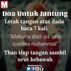 Semoga bermanfaat..doa untuk kesehatan jantung