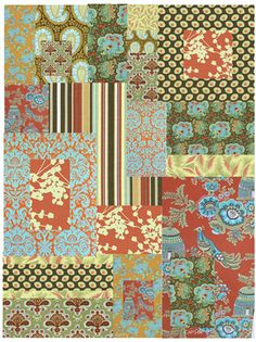 amy butler sunbloom fabric - Google Search