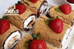 Kedidili Bisküvili Hafif Balkabağı Tatlısı - Nefis Yemek Tarifleri Ibiza, Baby Knitting Patterns, Muffin, Breakfast, Cake, Food, Morning Coffee, Kuchen, Essen
